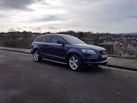 Audi Q7, 3.0 TDI S line. Excellent condition. FSH. Superb drive.