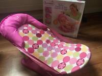 bath seat - deluxe baby bather quick sale