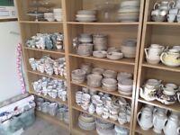 Vintage China large quantity for wedding / special celebration