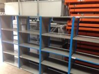 JOBLOT QBS heavy duty industrial shelving 2.1m high ( storage , pallet racking )