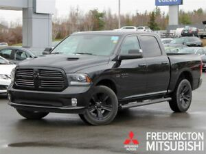 2016 Ram 1500 SPORT! CREW! HEATED/COOLED LEATHER! NAV!