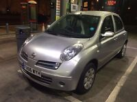 Nissan Micra 2006 Automatic 1.2 Petrol Silver 85k Genuine Mileage Mot march 2017 Clean inside out