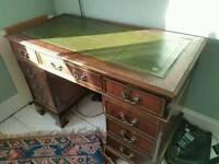 Antique vintage desk