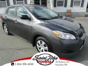2014 Toyota Matrix with Air + Cruise $133.24 BIWEEKLY!!!