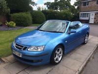 SAAB 9-3 2.0 T Vector 2dr Convertible, Excellent Condition, Low Mileage, Everything Works As Should