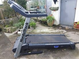 nordictrack running machine. folds away. good condition