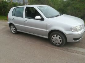 VW POLO 1.4cc PETROL ONLY 80K WITH A NEW MOT!