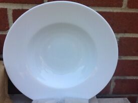 """Royal Genware Porcelain Wide Rimmed Pasta dish 12"""" (30cm)"""