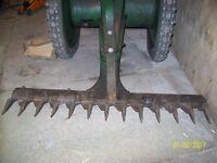 mechanicle scyth/tractor allan oxford