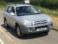 2006 HYUNDAI SANTA FE CDX DIESEL AUTO FULLY LOADED 4WD PRIVATE REG LEATHER SUNROOF 2 KEYS