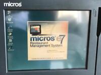 3 x MICROS restaurant management system