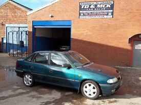 Vauxhall Astra 1.6i LS SUNROOF,CD,E/W,MOT,PX TO CLEAR,SERVICE HISTORY, OCT 2017 MOT