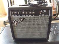 Fender Frontman 15G - 15 Watt Electric Guitar Amplifier Excellent Condition