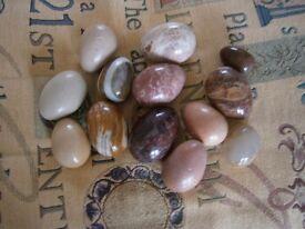 Ornamental Alabaster Eggs