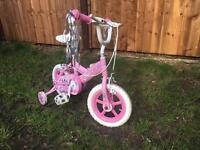 Apollo princess kids bike with stablisers