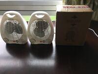 Fan heater new x 3