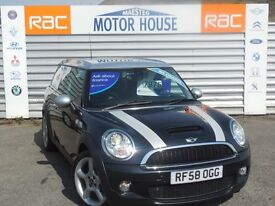 MINI Clubman COOPER S (STUNNING) FREE MOT'S AS LONG AS YOU OWN THE CAR!!! (black) 2008