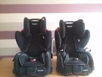 Two child car seats RECARO