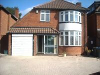 Three bedroomed, centrally heated, double glazed detached house to rent in Quinton.