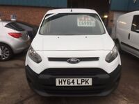 NO VAT NEW SHAPE FORD TRANSIT CONNECT VAN 1.6TDCI 2014/64 REG 111K £5850 NO VAT