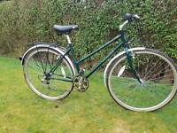"British Eagle Richmond Ladies Town Bike 18.5"" Green"