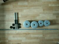 York Barbell and dumbbells