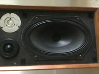 Vintage B&W speakers