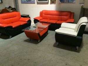 4 Piece Set! (Sofa, Loveseat, Chair & Coffee Table) ONLY $899