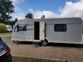 2014 Bailey Pursuit 550/4 twin bed