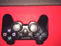 Sony PS3 black sixaxis wireless controller