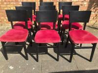 11 chairs 1 table joblot restaurant cafe