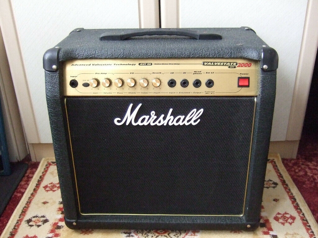Marshall AVT20 Electric Guitar Amp with Valve PreAmp and Reverb ( Tube  Hybrid Amplifier ) | in Bournemouth, Dorset | Gumtree