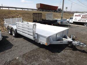Heavy Duty All-Aluminum Trailers