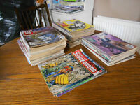 2000AD Huge Comic Collection of 126 authentic vintage comics 1991 - 1993