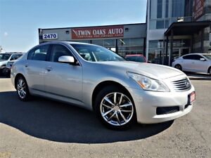 2008 Infiniti G35 AWD | NAVIGATION | REAR V/CAM | LEATHER | LOAD