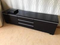 Besta IKEA TV Cabinet - Gloss Black