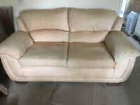 3 and 2 piece settee's for sale. Very good conditions on both. Willing to sell as pair or seperate