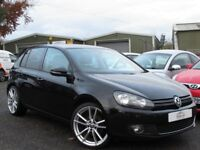 2012 VOLKSWAGEN GOLF 2.0 GT TDI 2 OWNERS HEATED BLACK LEATHER FULL SERVICE HISTORY EXCELLENT ORDER