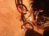 girs push bike