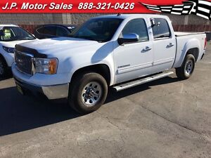 2013 GMC Sierra 1500 LS, Crew Cab, Steering Wheel Controls, 4x4