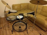 Arbiter flats lite compact portable drum kit