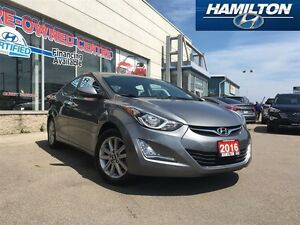 2016 Hyundai Elantra | SPORT | BACK UP CAM | ROOF | ALLOYS | LEA
