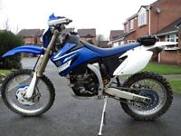 YAMAHA WR 450 Enduro Bike, Road Registered, MOT'd, LOW MILEAGE Stunning. Not, kx, rm, ktm, cr, 125