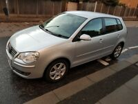 Volkswagen Polo 1.2 60 Match, Hatchback, 5 Doors 2008, Petrol, Manual, Silver, 67706 miles. £2795.
