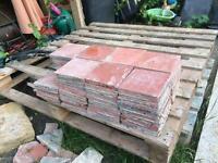 75x reclaimed quarry tiles. 150x150mm