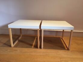 Two side tables for sale in Fulham