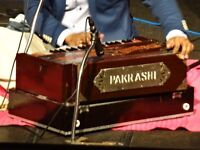 Harmonium and Indian Style Keyboard Teacher