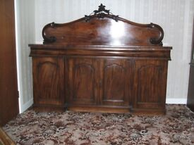Antique Victorian Chiffonier Sideboard