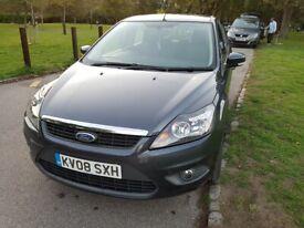 2008 Ford Focus 1.6 Zetec 5dr+Automatic+ULEZ+HPI Clear+ Service History+1 F/ Keeper+2Keys