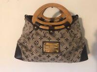 Louis Vuitton Suede Handbag